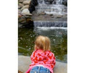 Girl-With-Waterfall